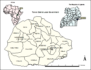 Source: Tororo District Planning Unit Geographic Information System